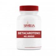 Betacaroteno 40.000UI - 30 cápsulas