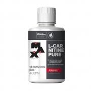 L-carnitine pure morango 400ml Max Titanium