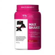 Max shake morango 400g Max Titanium
