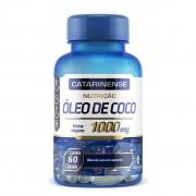 Óleo de coco 1000mg Catarinense – 60 cápsulas