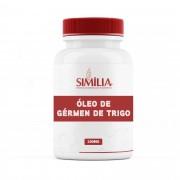 Óleo de Gérmen de Trigo 250Mg - Wheat Germ Oil -Triticum sativum Lank - 60 cápsulas