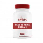 Óleo de Peixe Ômega 3 1000Mg - EPA 180Mg DHA 120Mg por cápsula - 100 cápsulas
