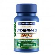 Vitamina D 2000UI Catarinense 30 cápsulas