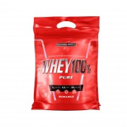 Whey 100% Pure Morango 907g Integralmedica