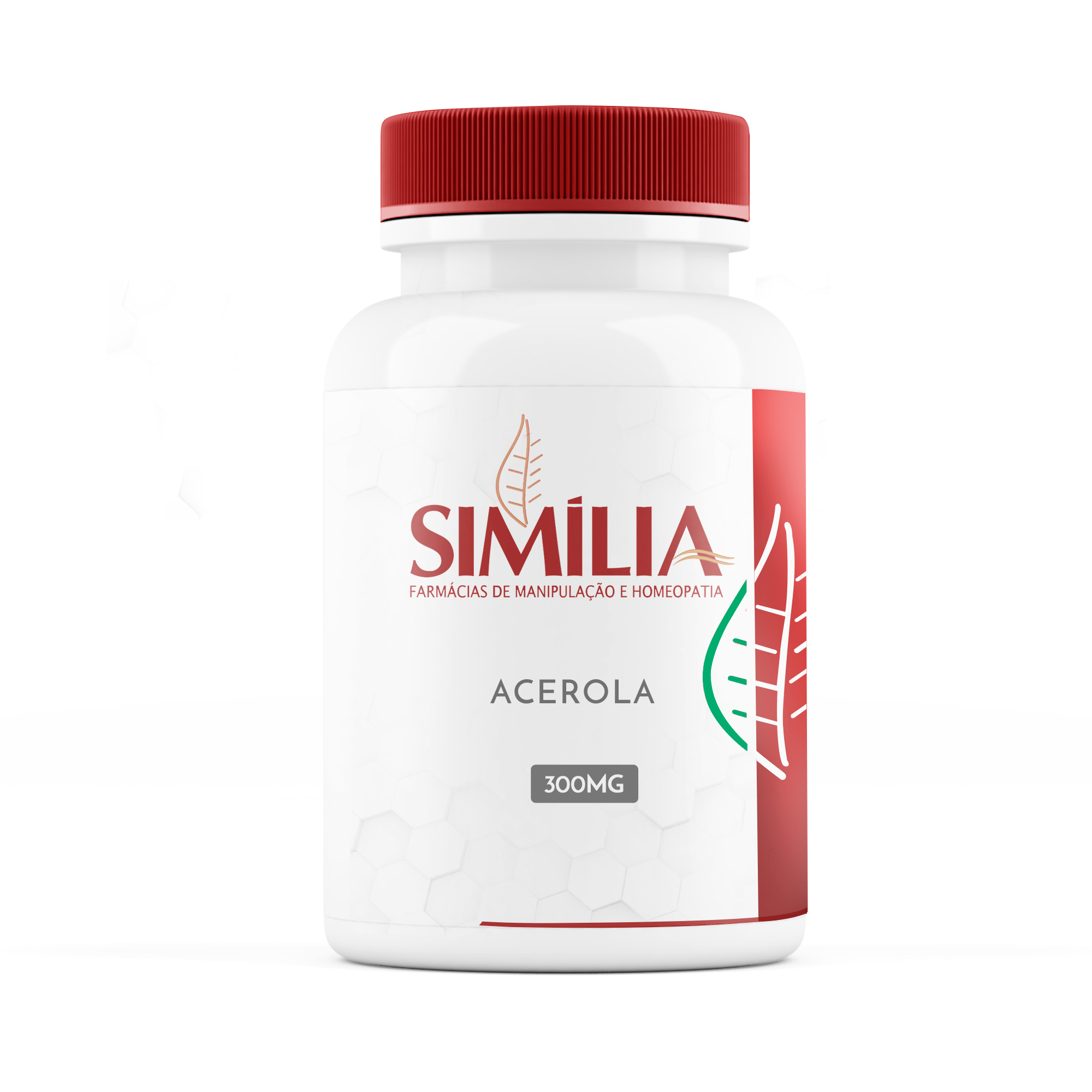 Acerola 300mg - Extrato Seco Padronizado - 25% Ácido ascórbico