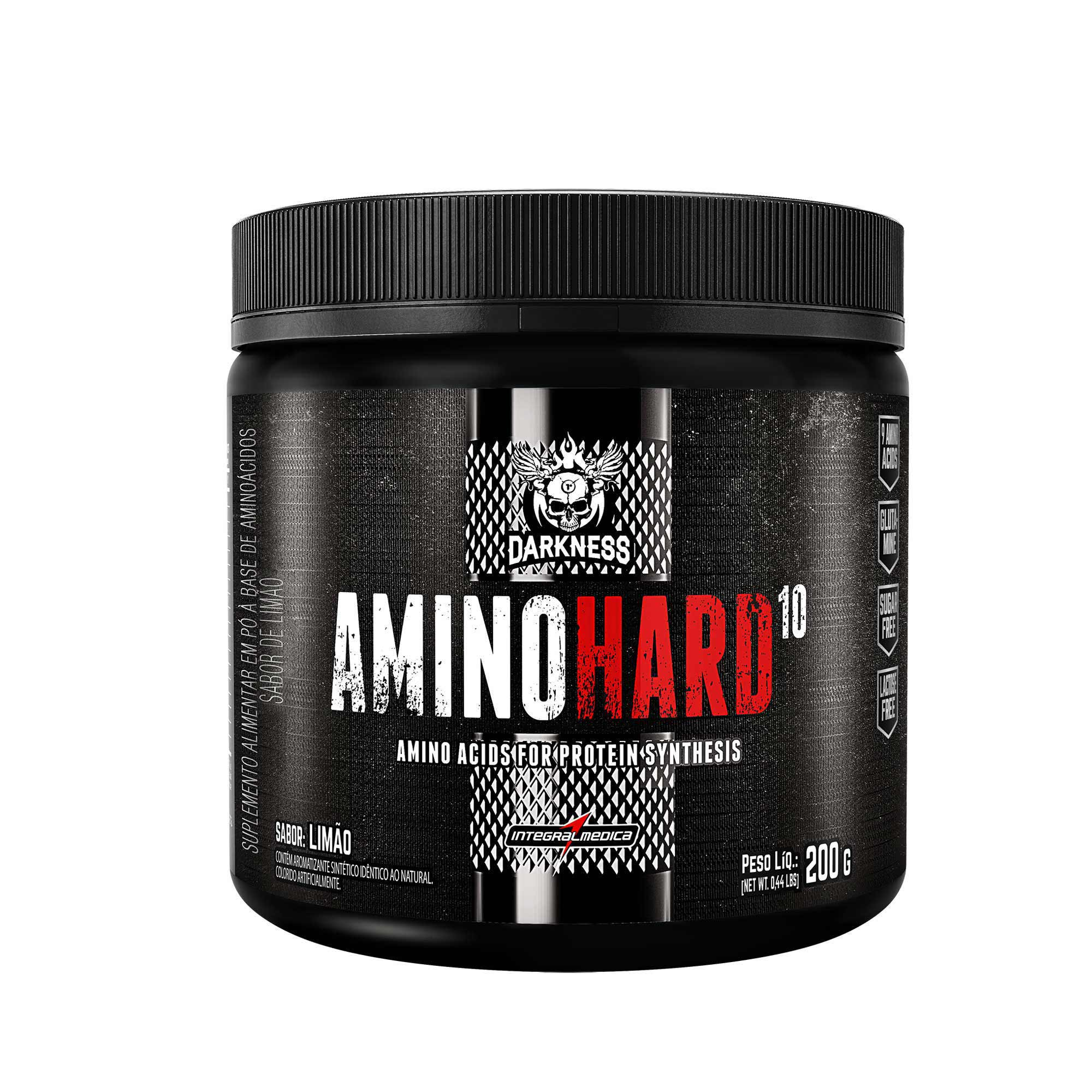 Amino Hard 10 Limão 200g Integralmedica