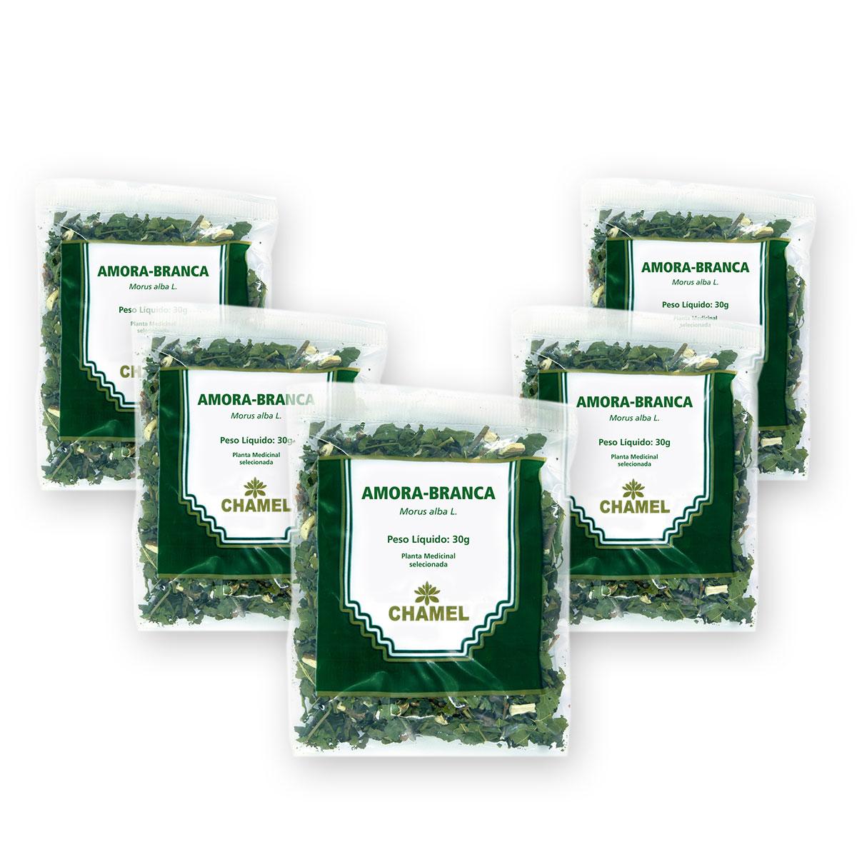 Amora 30g Chamel com 5 Unidades - Chá Folhas