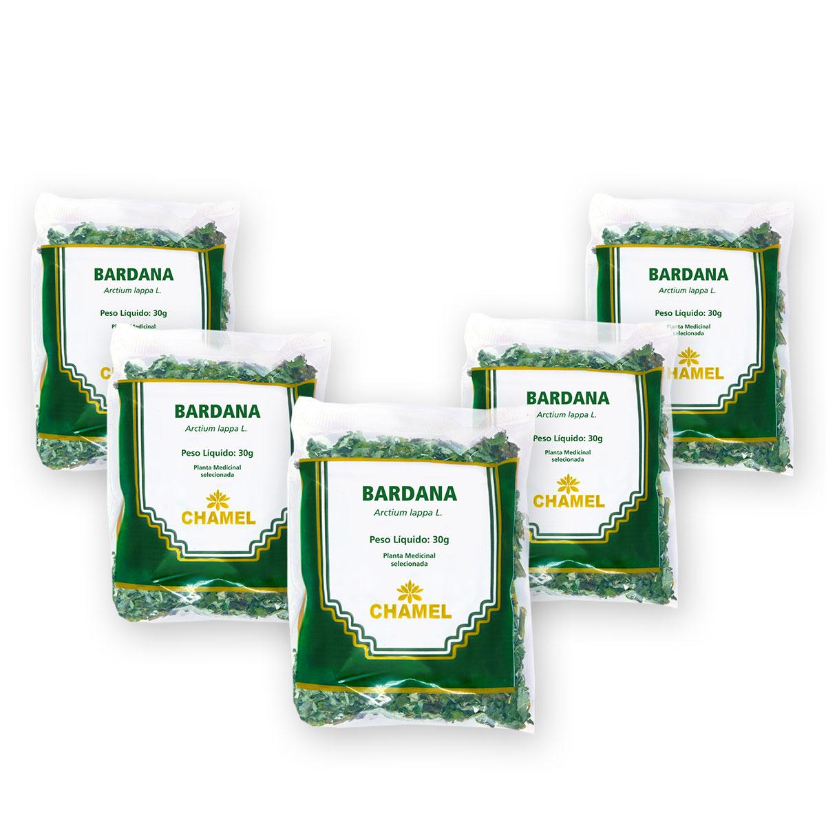 Bardana 30g Chamel com 5 Unidades - Chá-Folhas