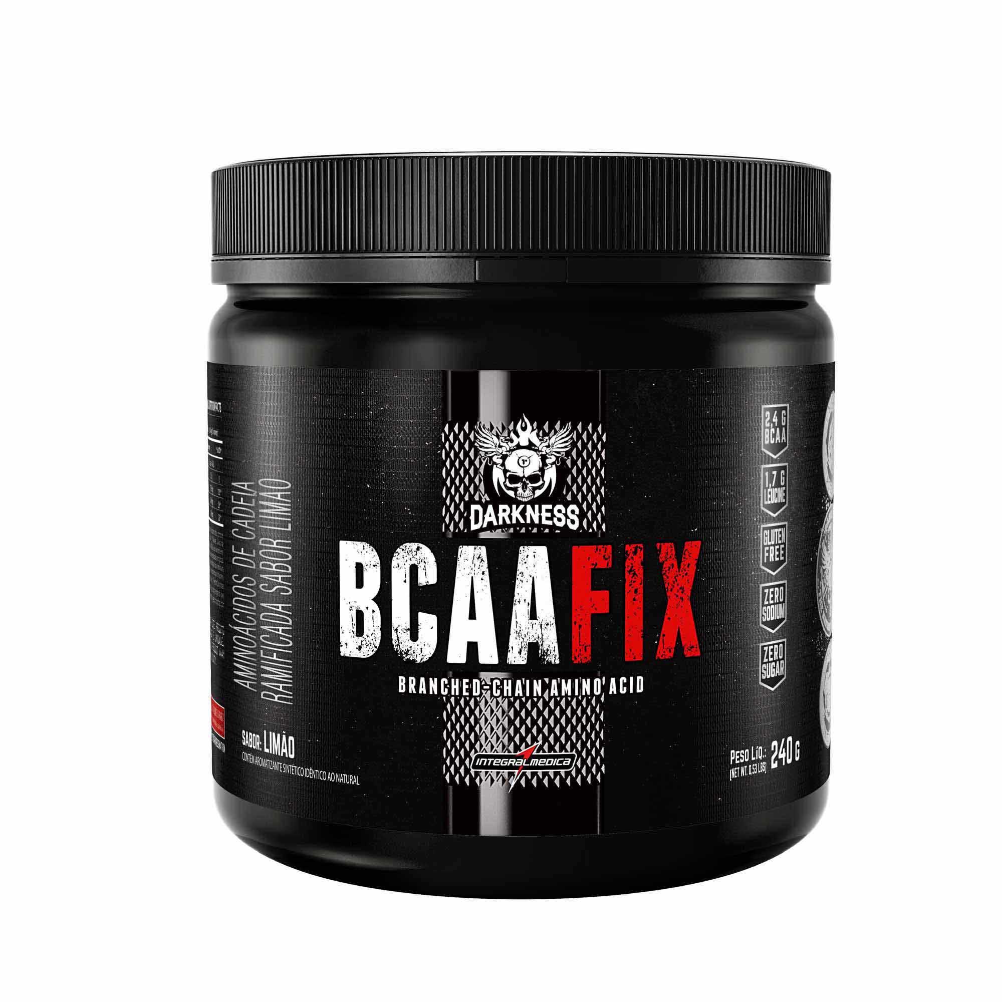BCAA Powder Fix Limão 240g Integralmedica