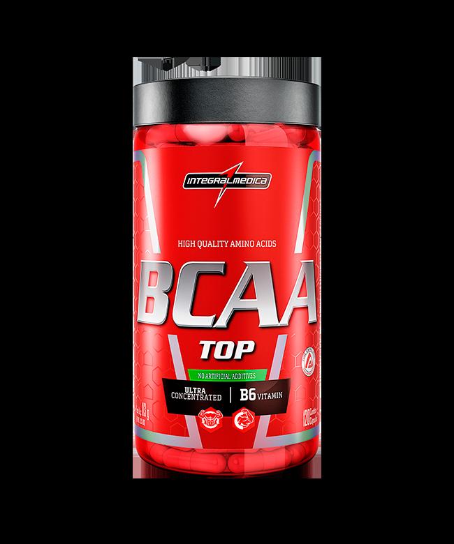 BCAA Top 120 cápsulas Integralmedica
