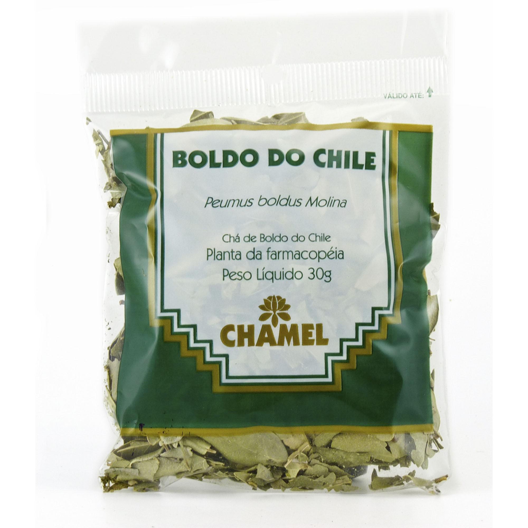 Boldo do chile 30g Chamel - Chá-Folhas