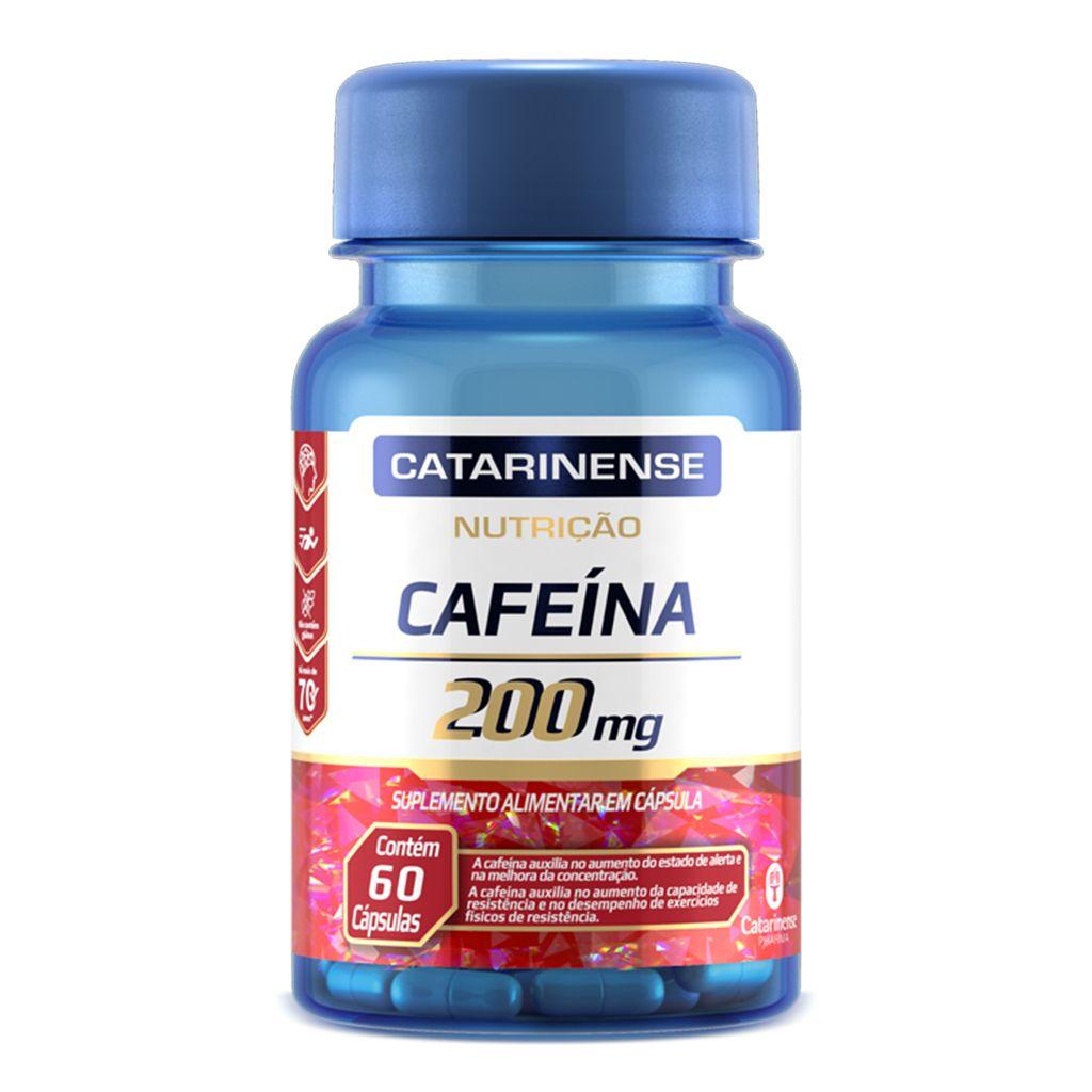 Cafeína 200mg Catarinense - 60 cápsulas