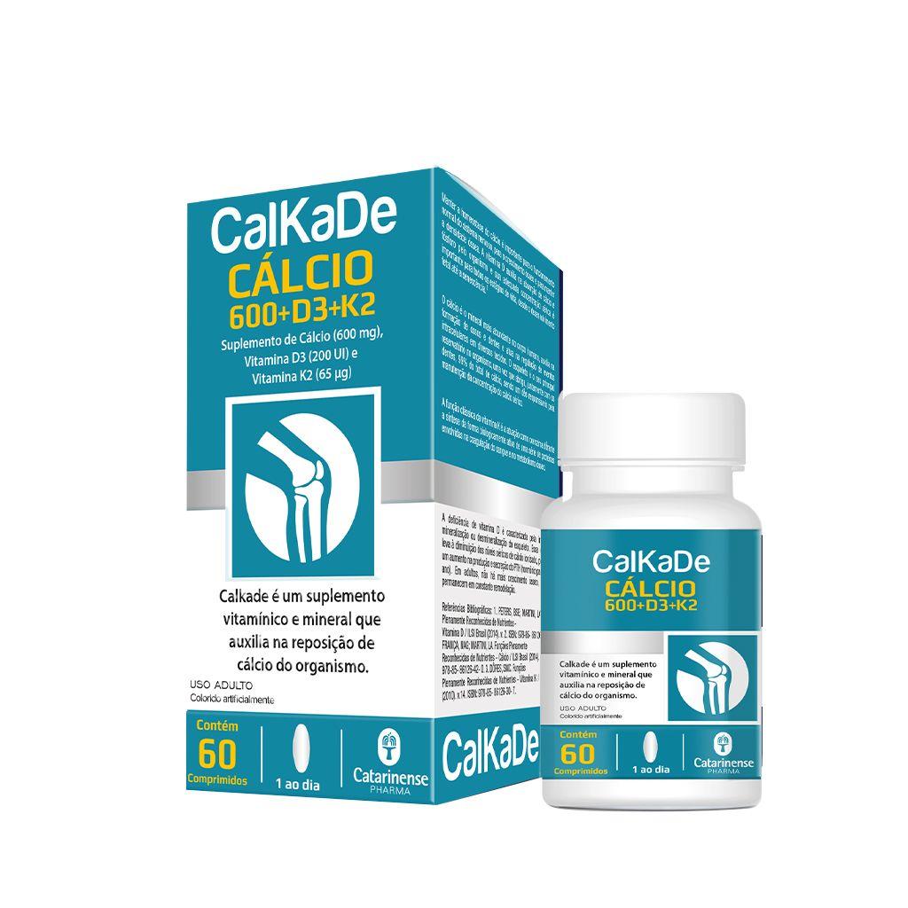 Calkade 600mg Catarinense 60 comprimidos