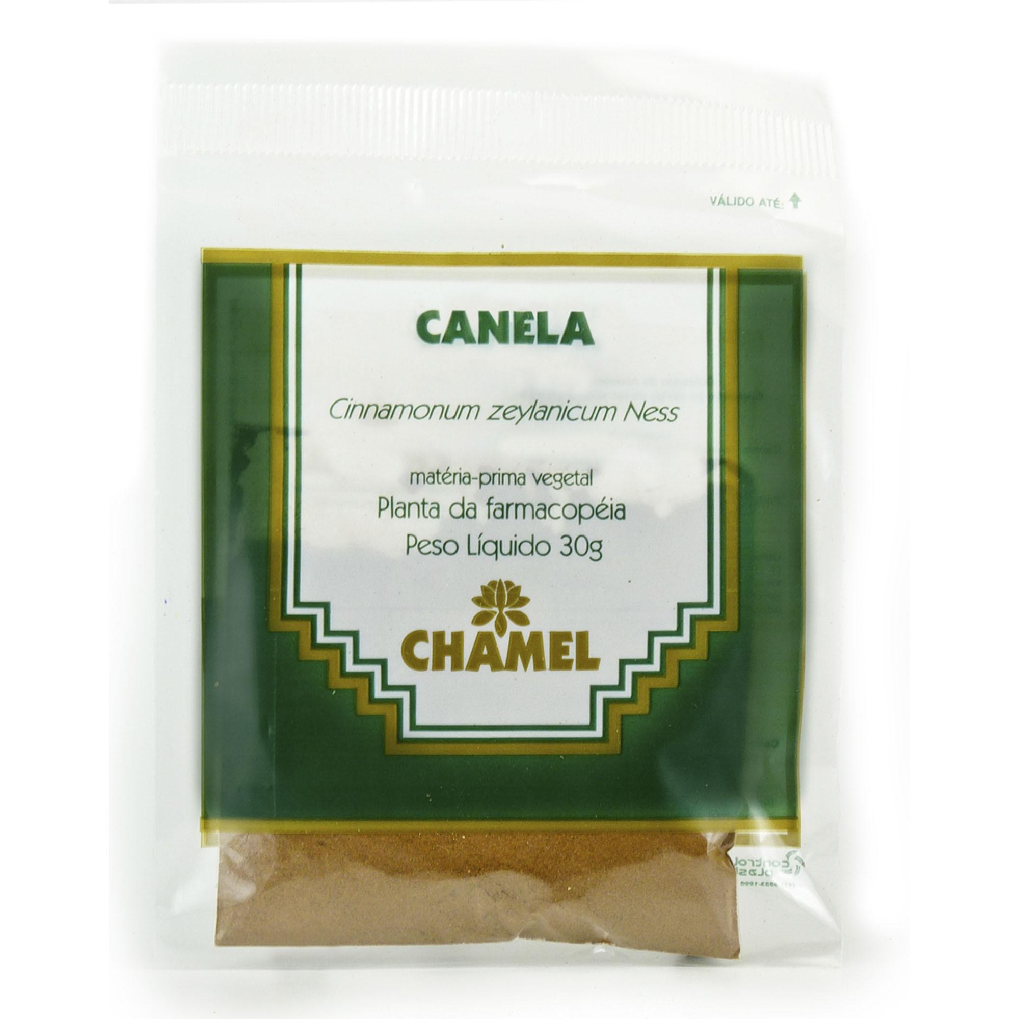 Canela 30g Chamel - Chá-Pó