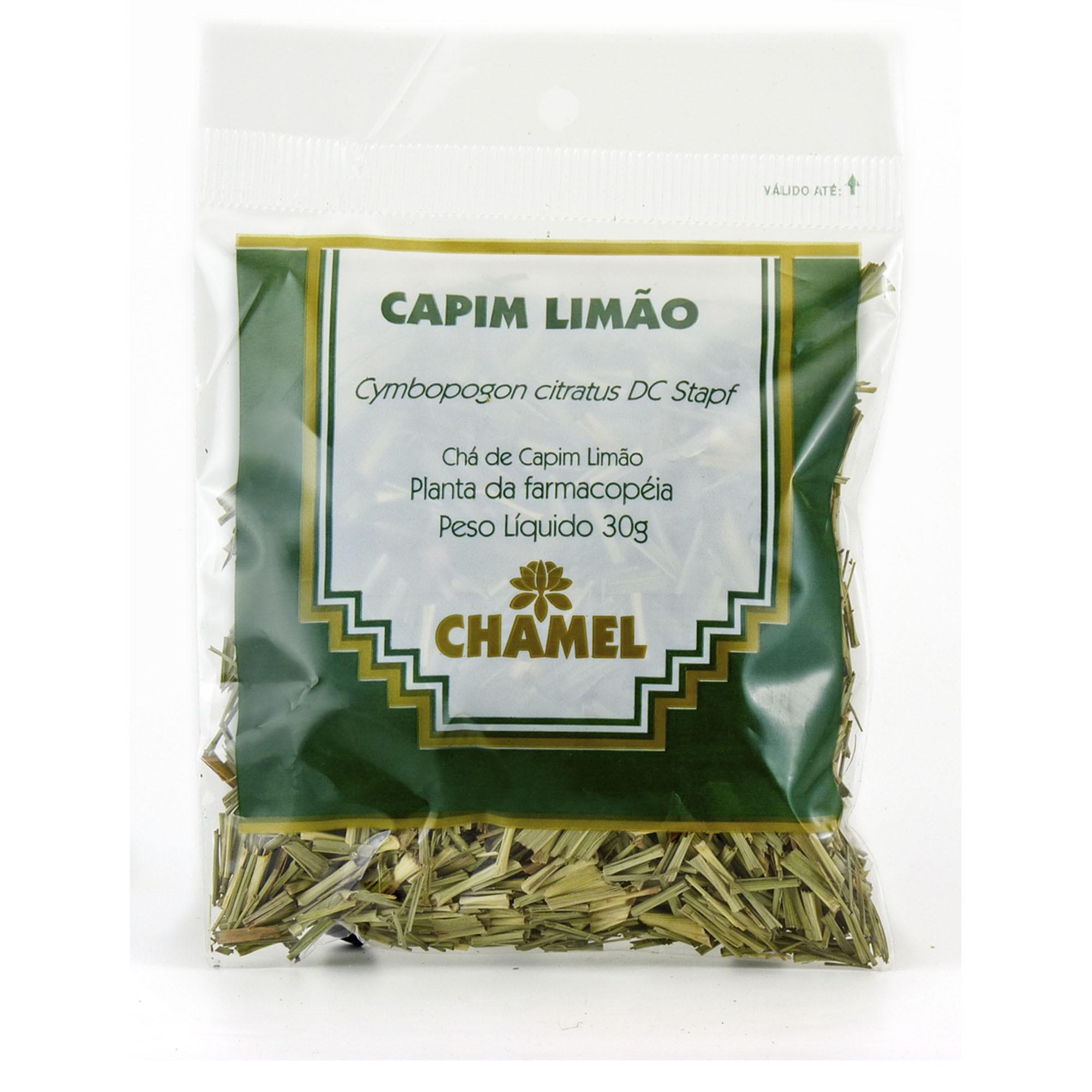 Capim Limão (Cidreira) 30g Chamel - Chá-Folhas