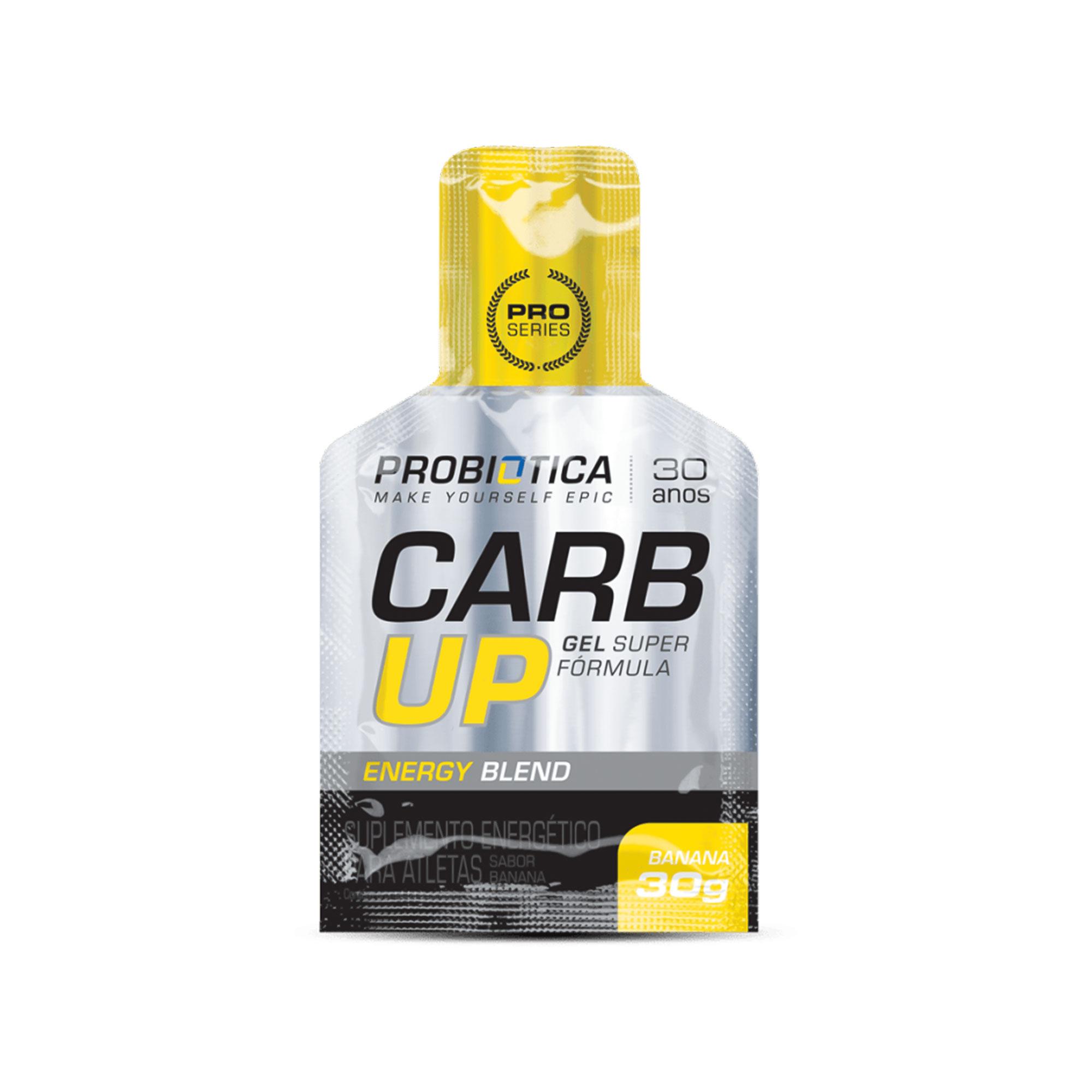 Carb up Gel Super Fórmula Banana Probiotica 30g