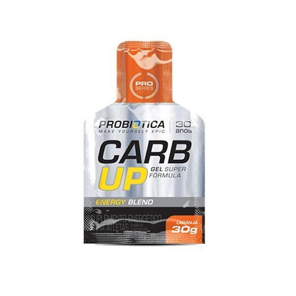 Carb up Gel Super Fórmula Laranja Probiotica 30g