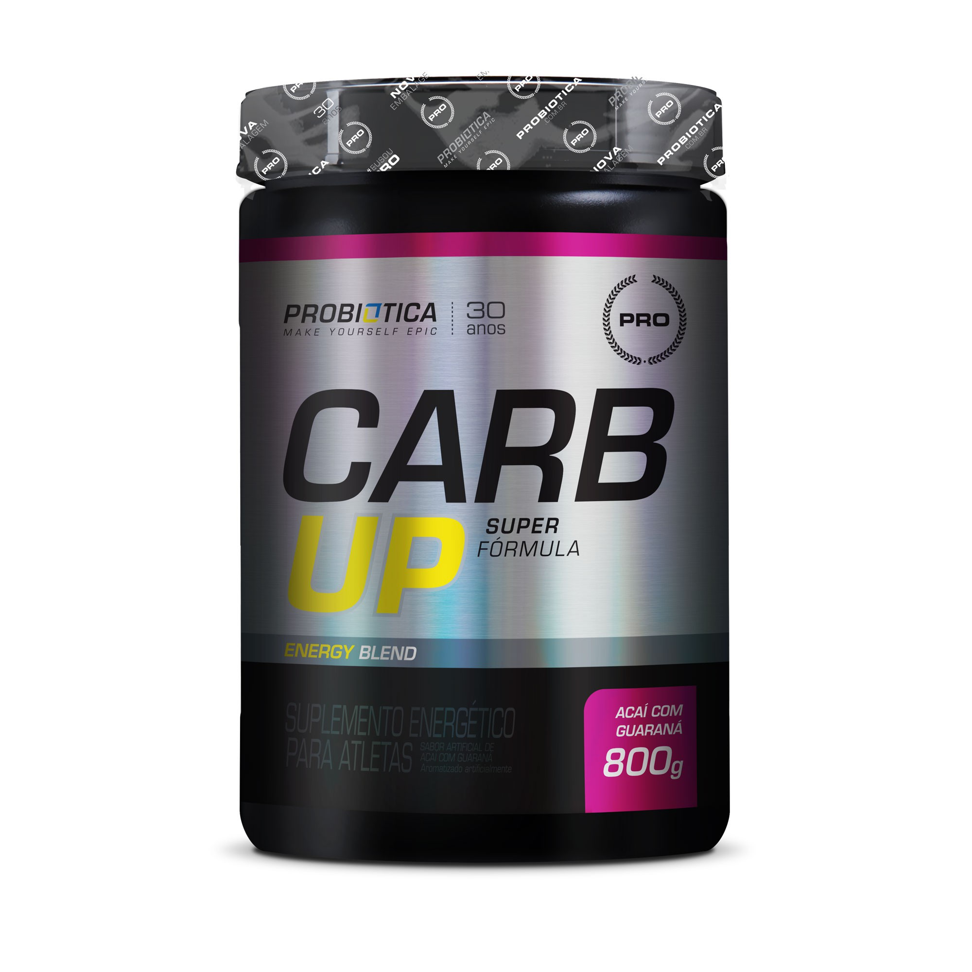 Carb up Super Fórmula Açai c/ guaraná  Probiotica 800g
