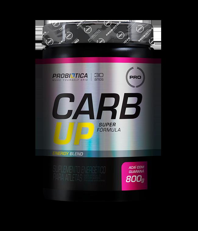 Carb up Super Fórmula Açai c/ guaraná  Probiotica 800g
