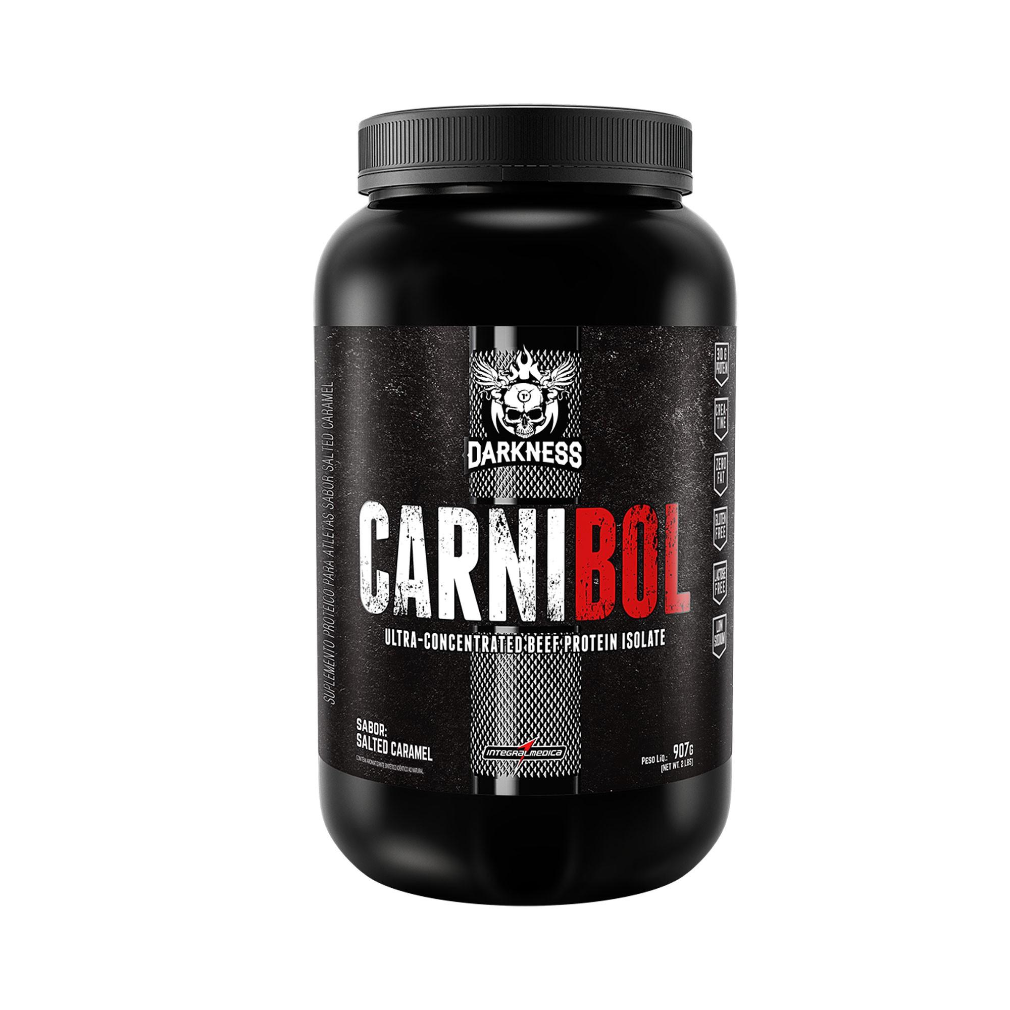 Carnibol Proteína da Carne Caramelo 907g Integralmedica