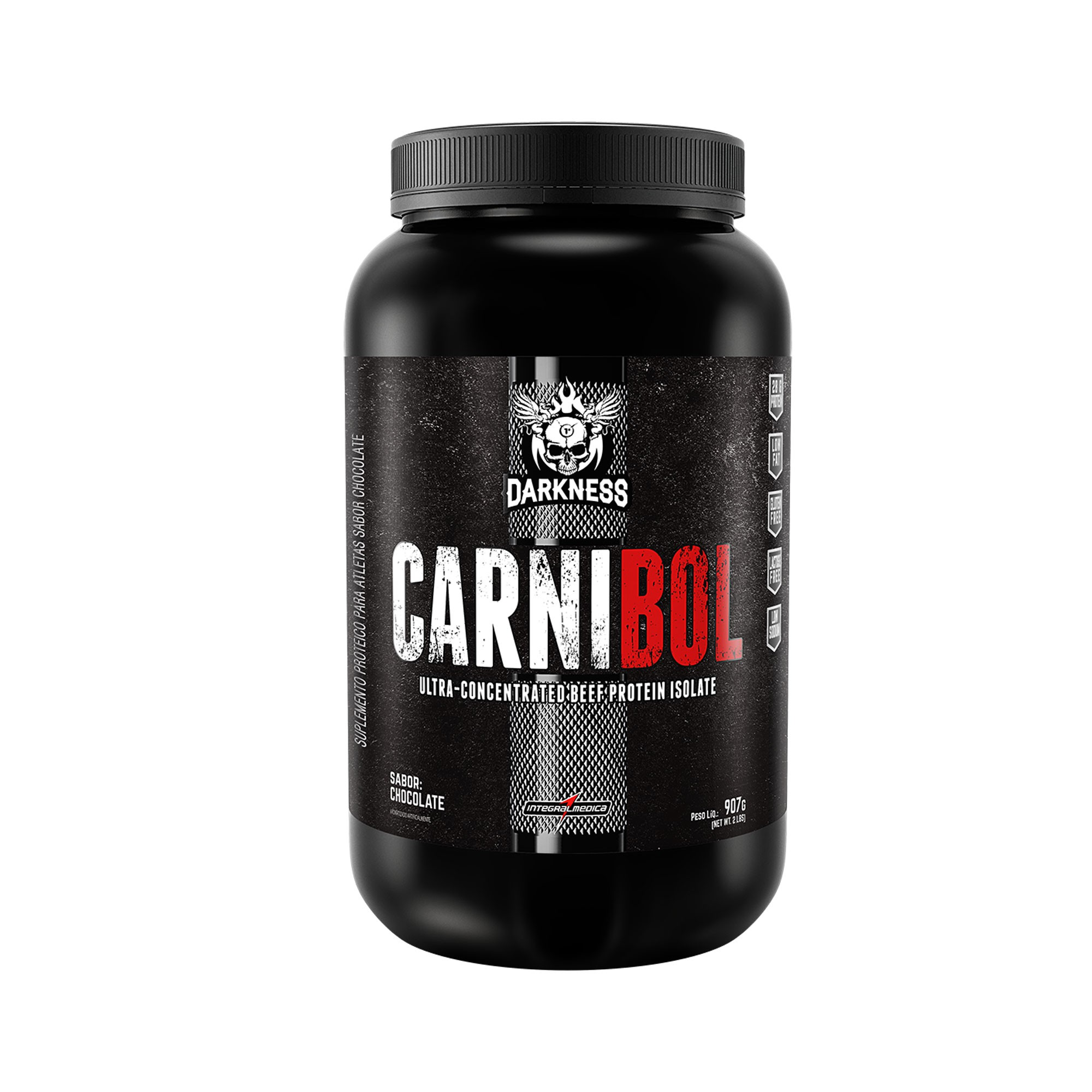 Carnibol Proteína da Carne Chocolate 907g Integralmedica