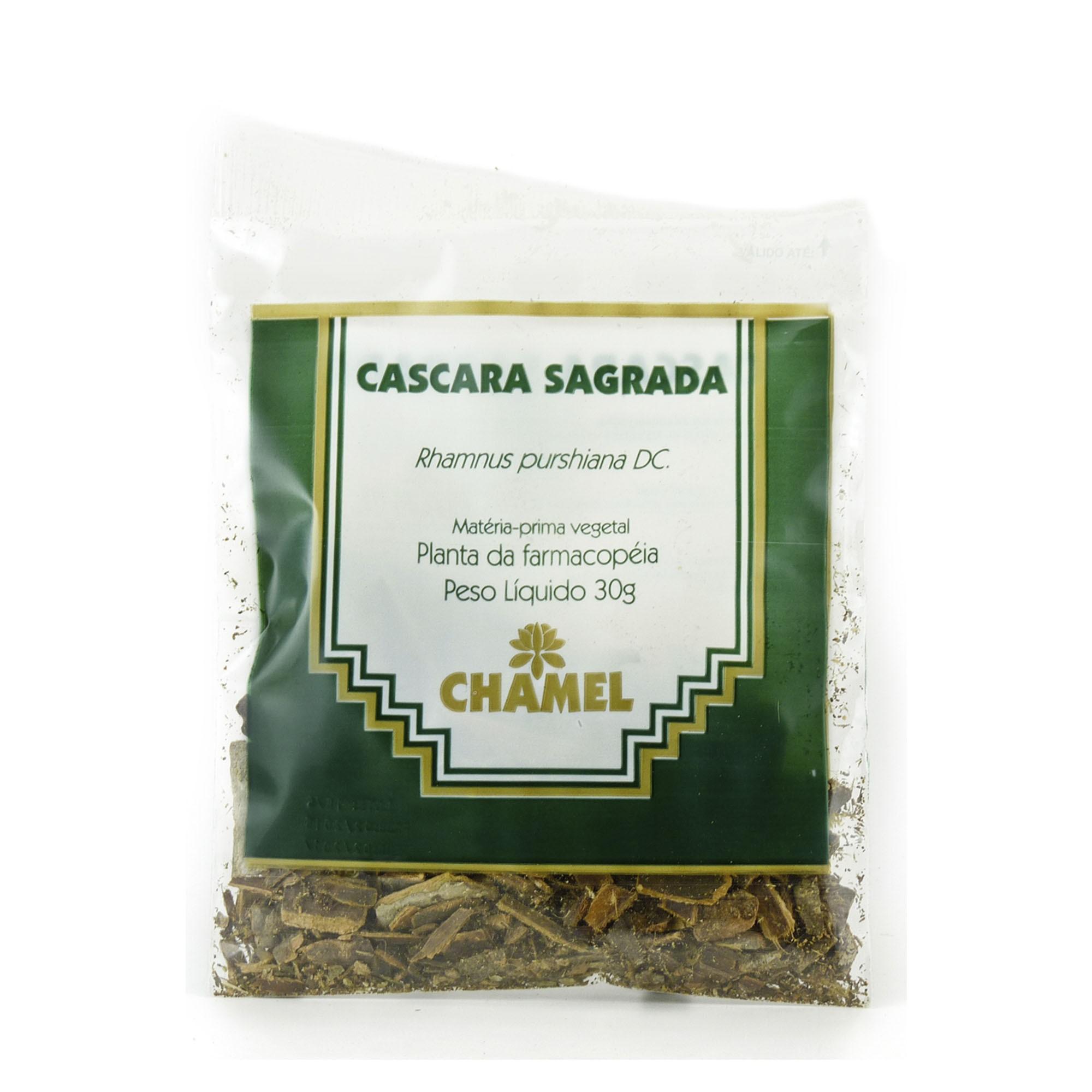 Cáscara Sagrada 30g Chamel - Chá-Cascas