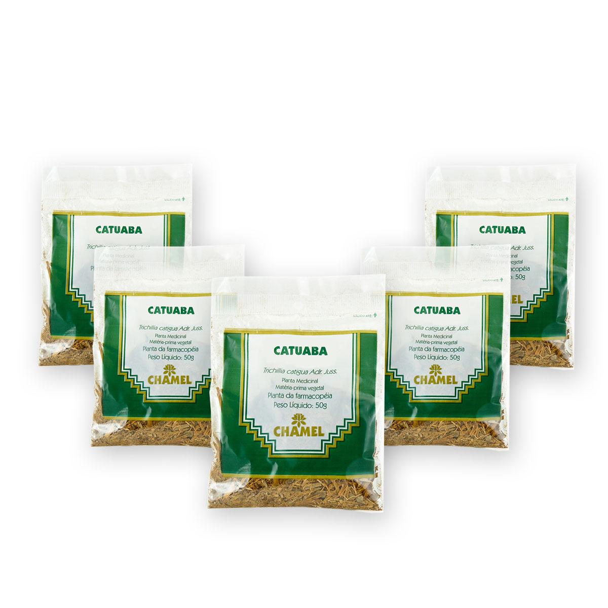 Catuaba 50g Chamel com 5 Unidades - Chá-Cascas
