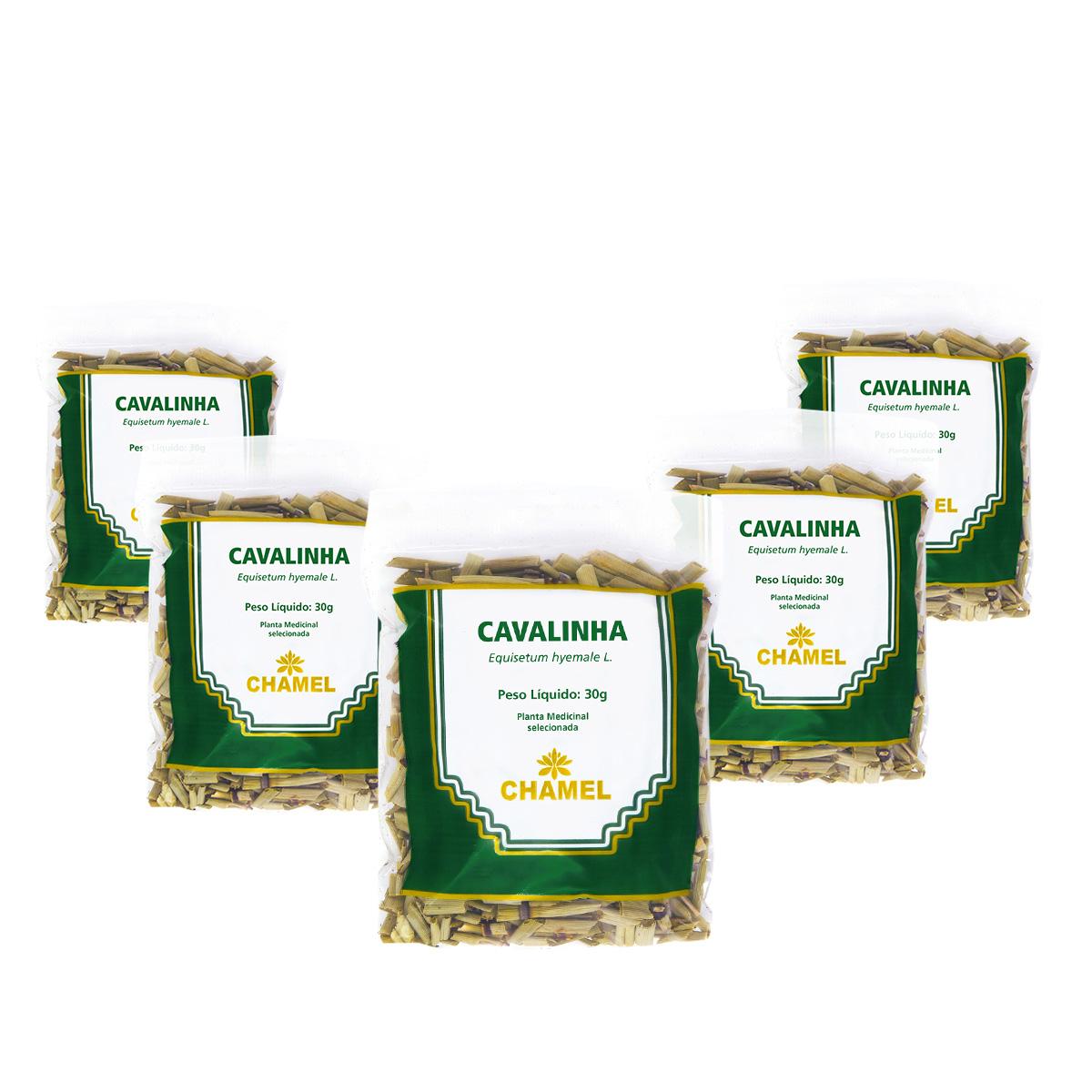 Kit Cavalinha 30g Chamel - Chá-Folhas