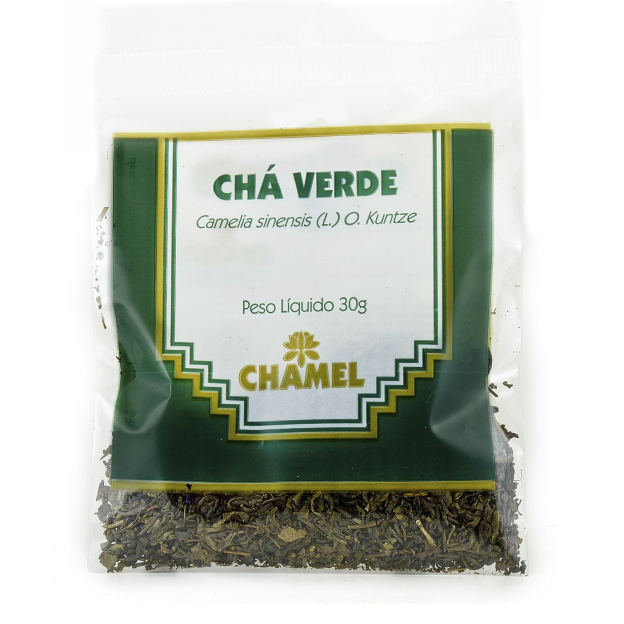 Chá Verde 30g Chamel - Chá-Folhas