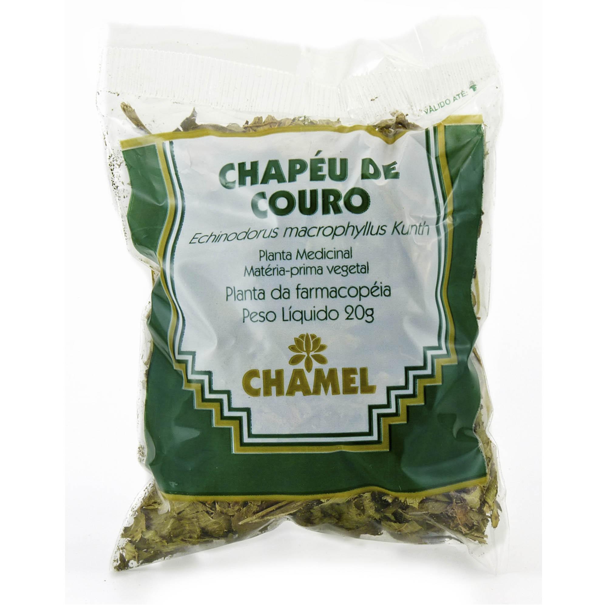 Chapéu de Couro 20g Chamel - Chá-Folhas