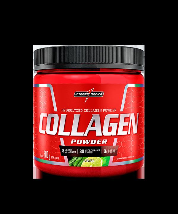 Collagen Powder Limão 300g Integralmedica