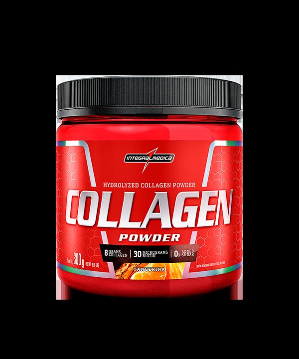 Collagen Powder Tangerina 300g Integralmedica