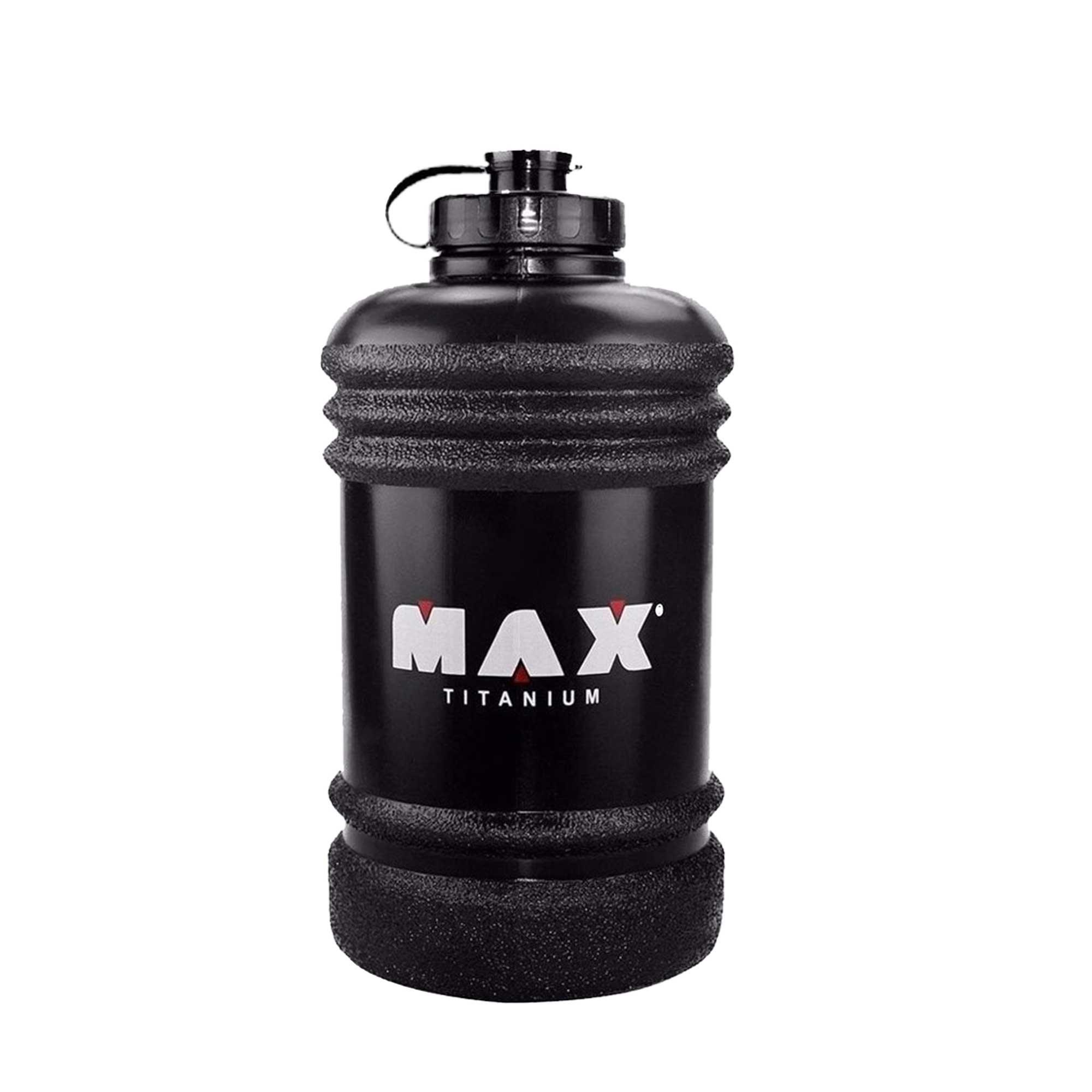 Galão Max Titanium 2,2L preto Max Titanium