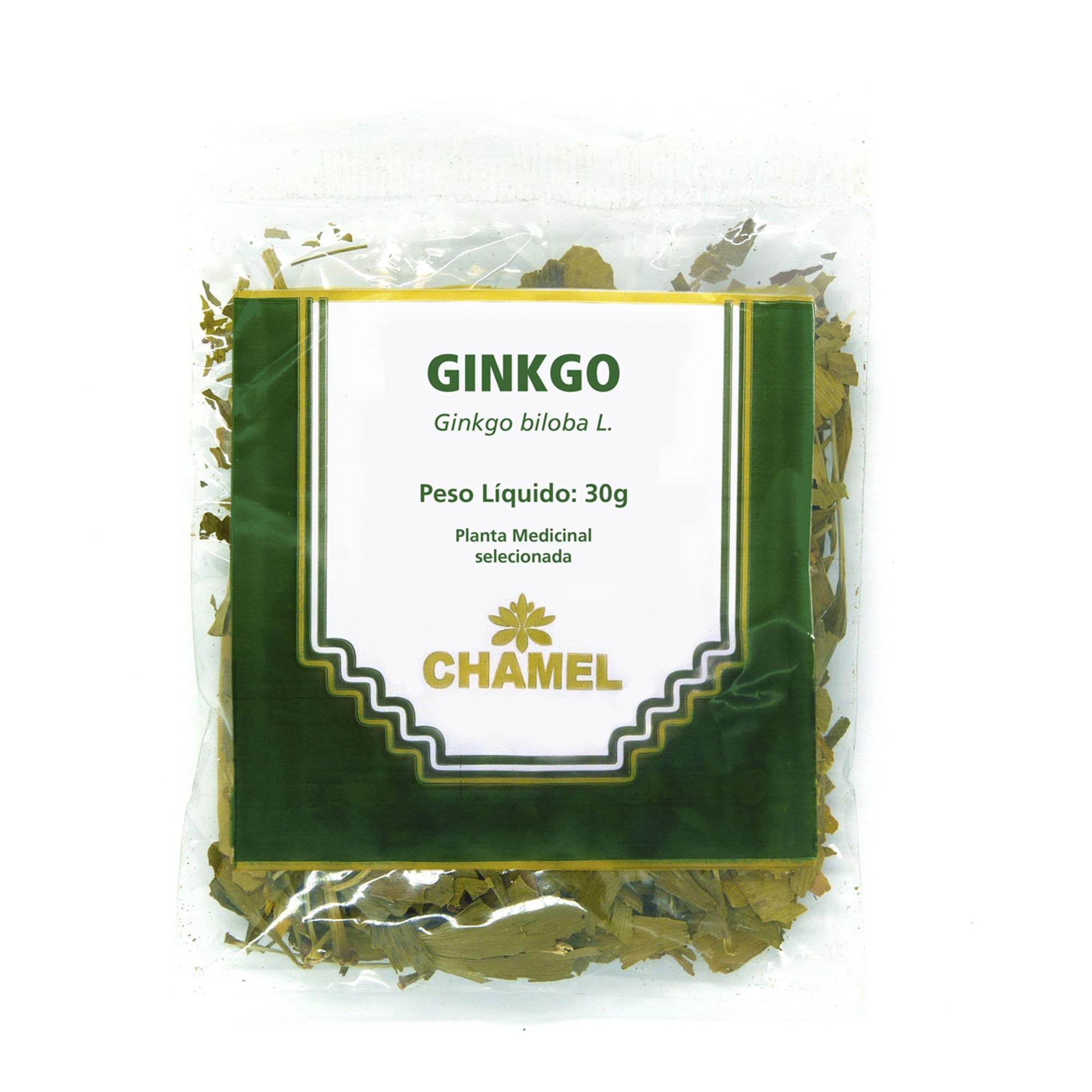 Ginkgo 30g Chamel - Chá-Folhas