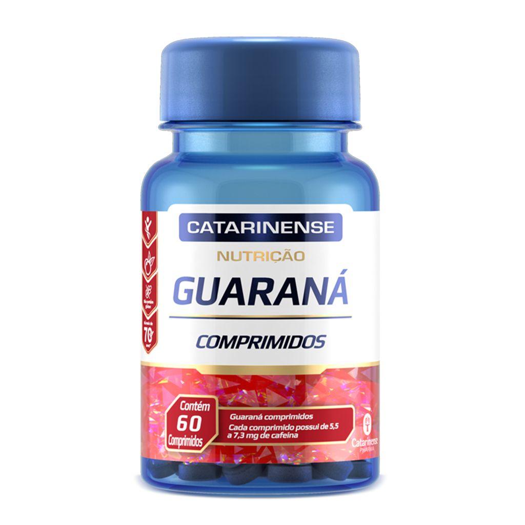 Guaraná 350mg Catarinense 60 cápsulas