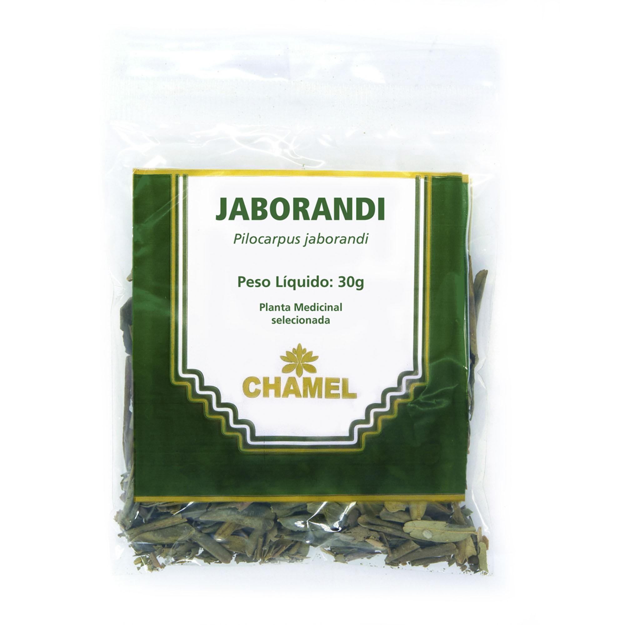 Jaborandi  30g Chamel - Chá-Folhas