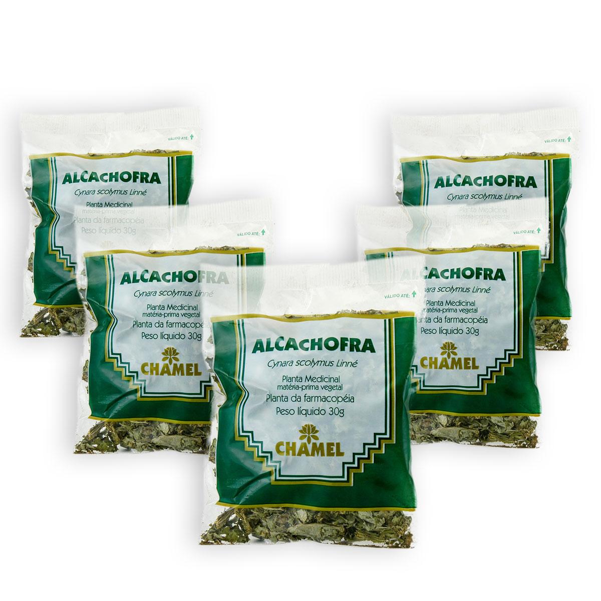 Alcachofra 30g Chamel com 5 Unidades  - Chá Folhas