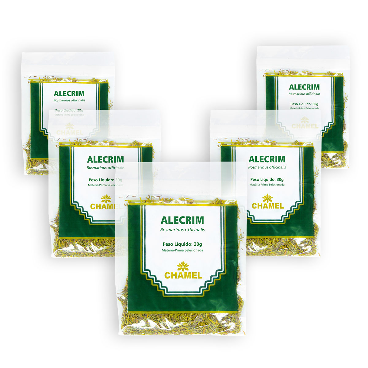 Kit Alecrim 30g Chamel - Chá-Folhas