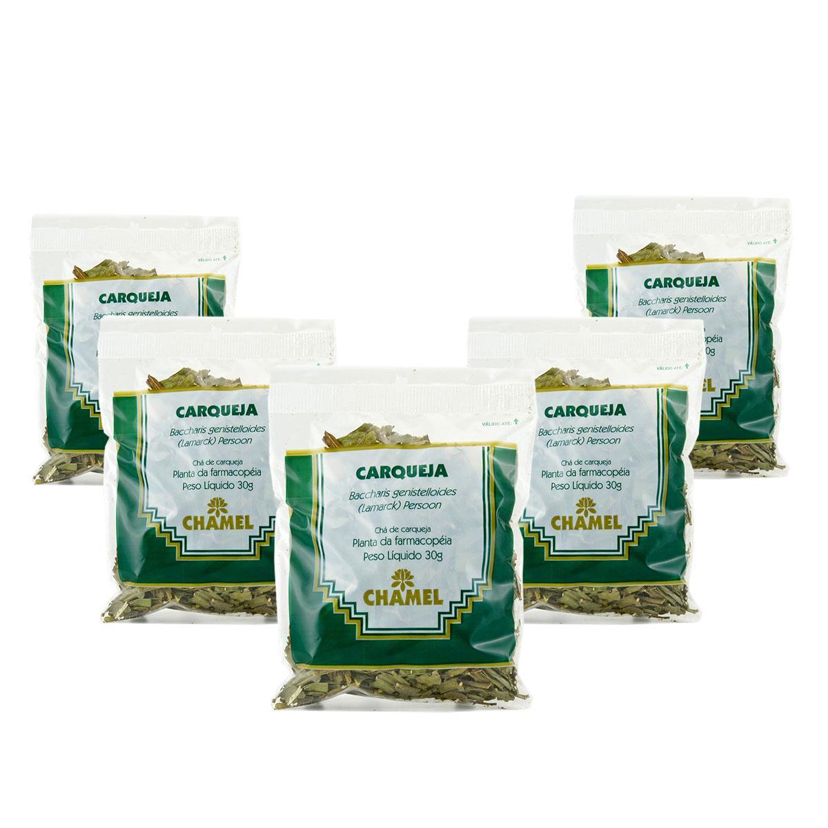 Carqueja 30g Chamel com 5 Unidades - Chá-Folhas