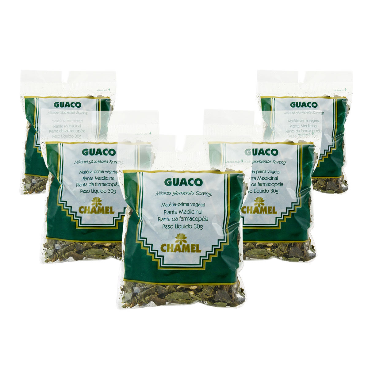 Guaco 30g Chamel com 5 Unidades - Chá Folhas
