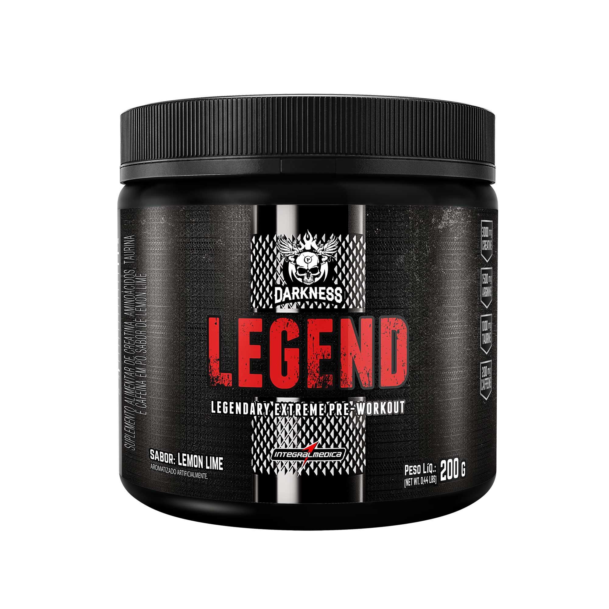 Legend Darkness Lemon Lime 200g Integralmedica