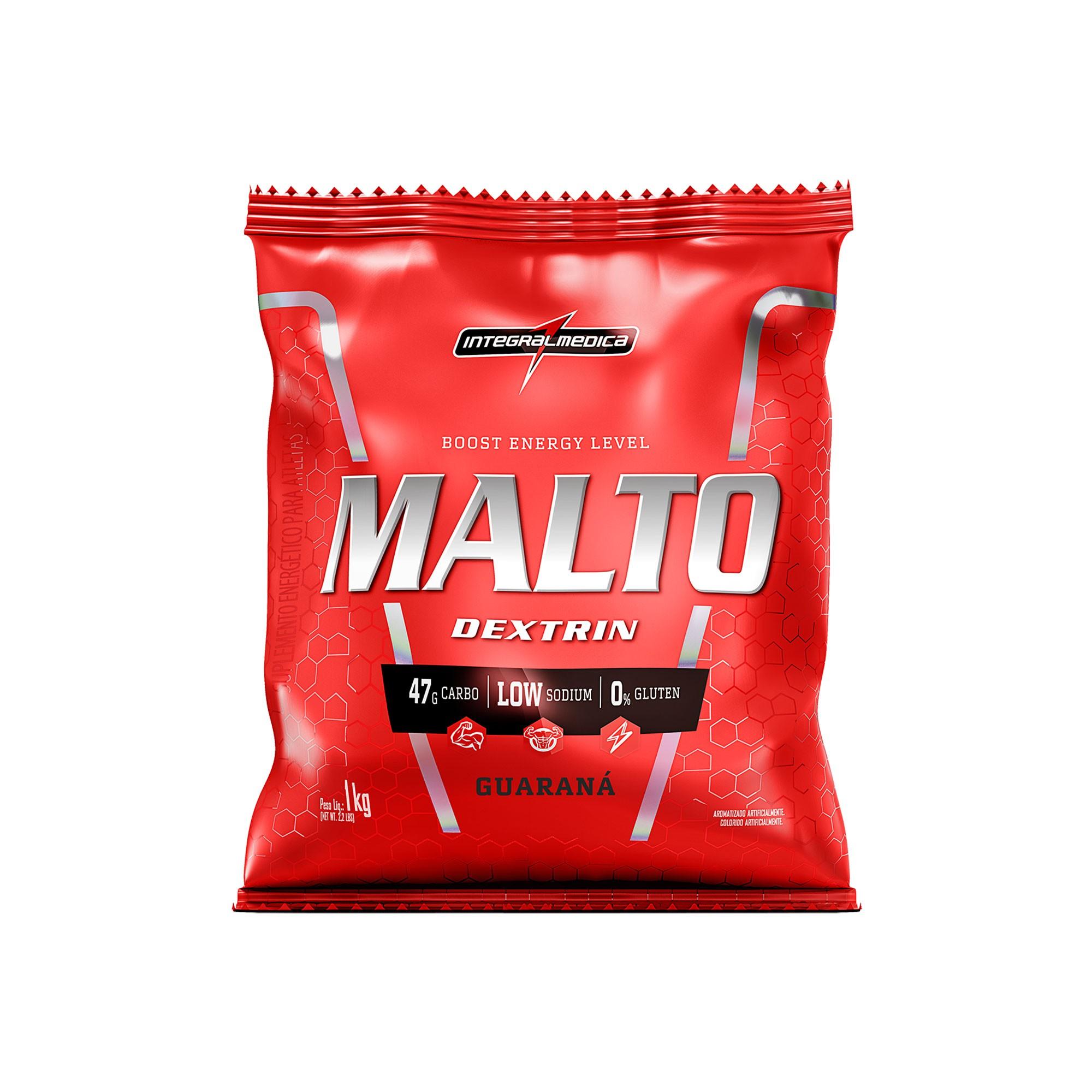 Maltodextrin Guaraná 1Kg Integralmedica