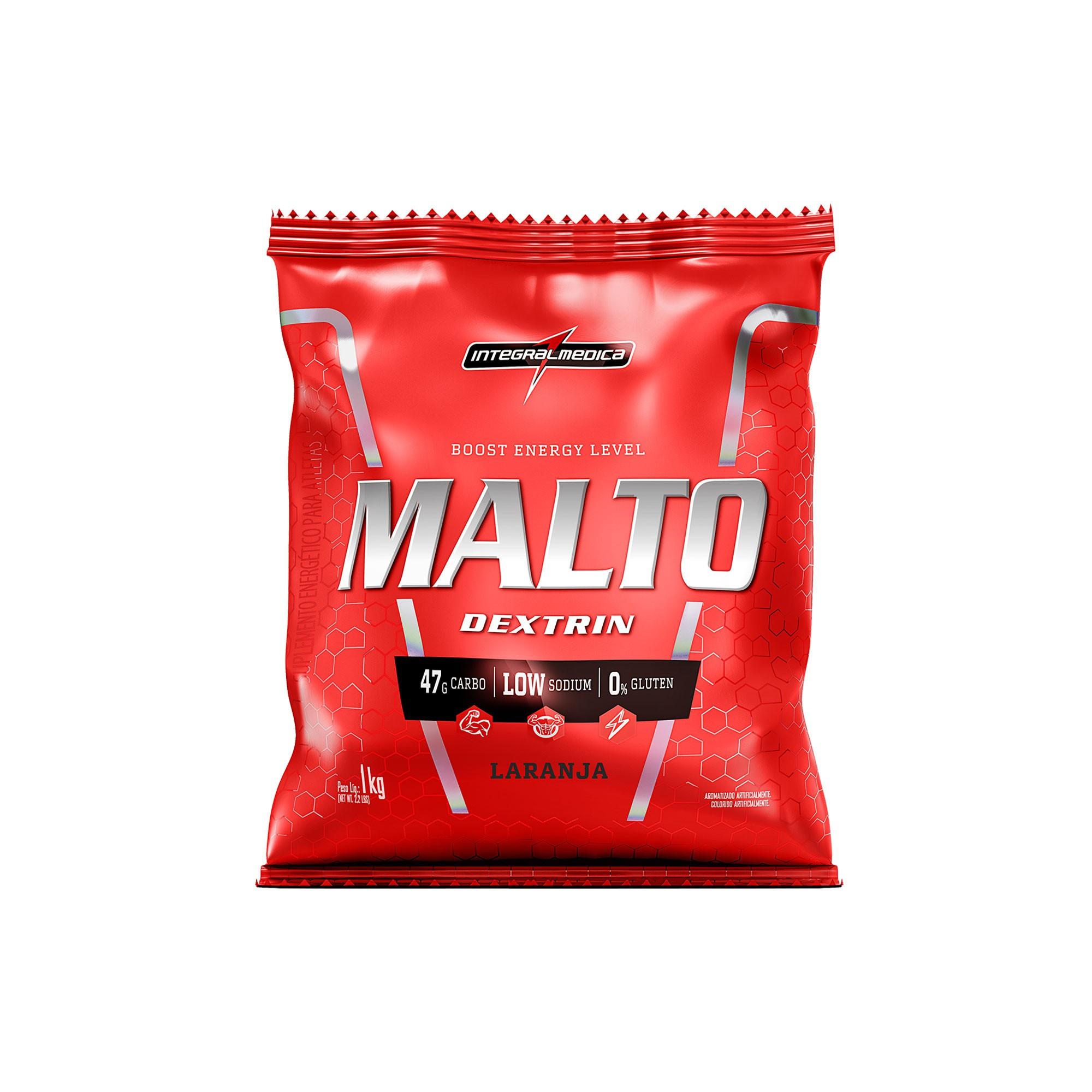 Maltodextrin Laranja 1Kg Integralmedica