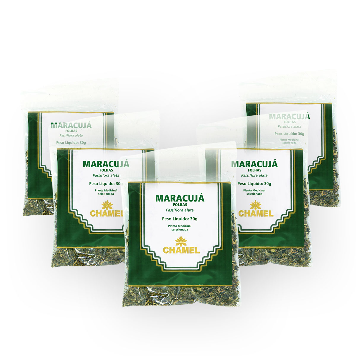 Maracujá 30g Chamel com 5 Unidades - Chá-Folhas