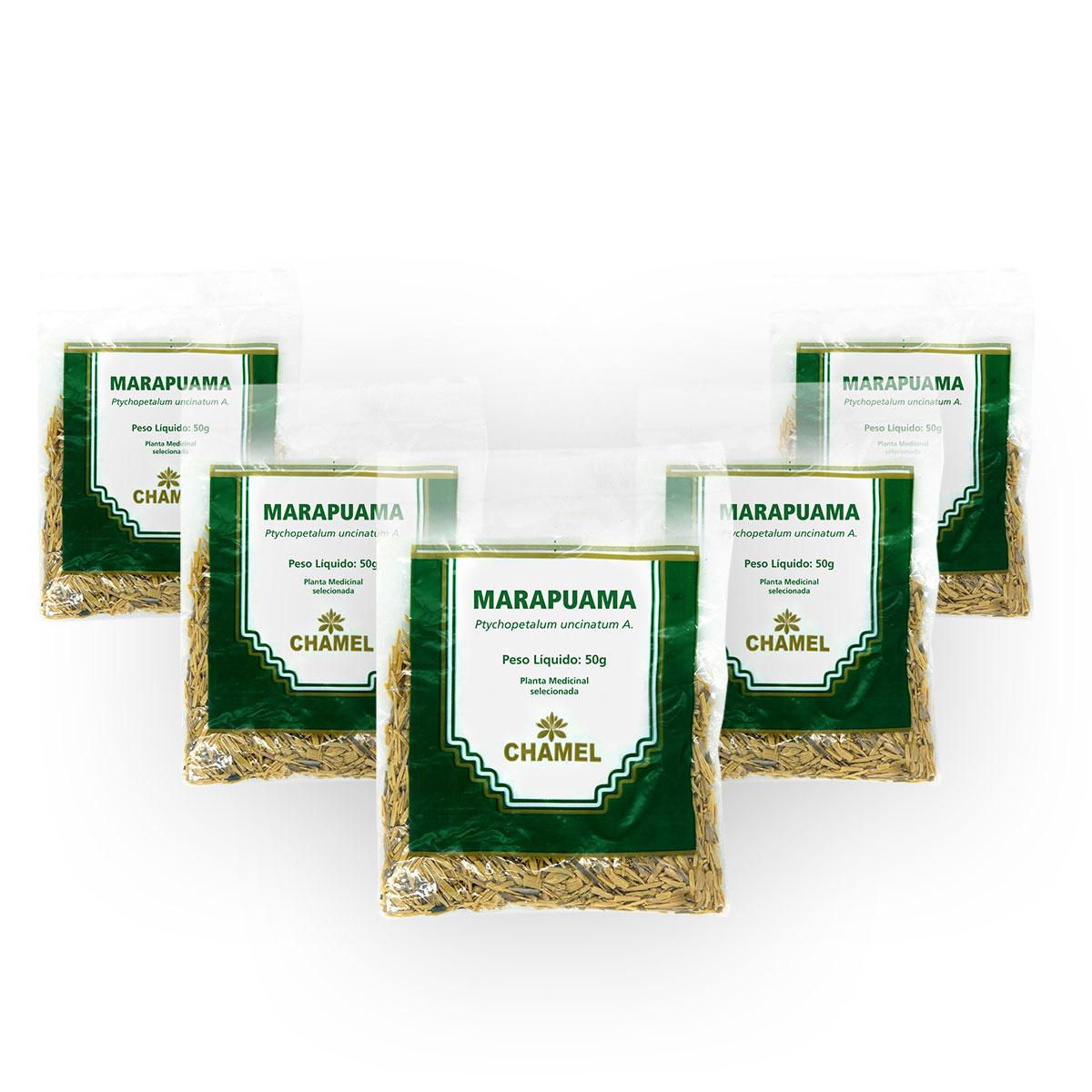 Marapuama 50g Chamel com 5 Unidades - Chá Raízes