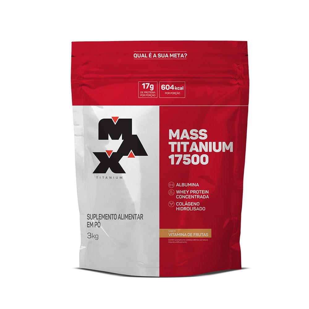 Mass titanium 17500 vitamina de frutas 3kg Max Titanium