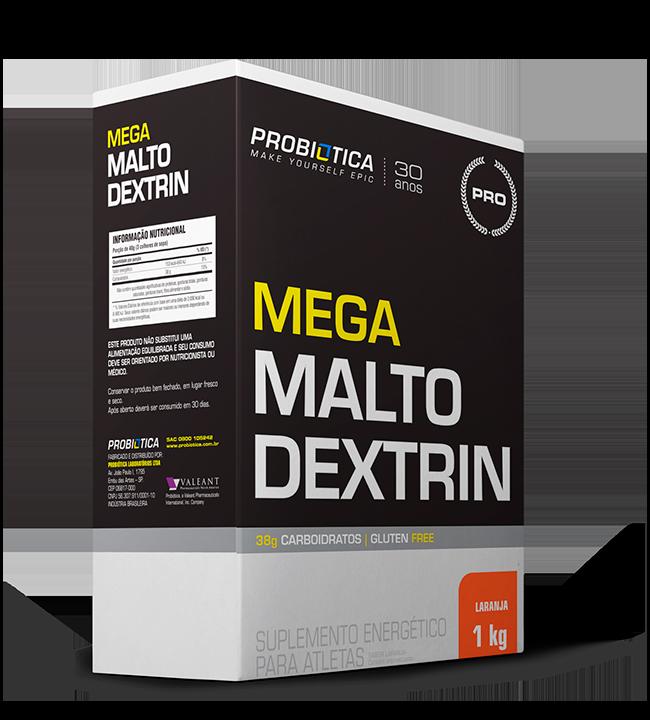 Mega Maltodextrin Laranja Probiotica  1kg