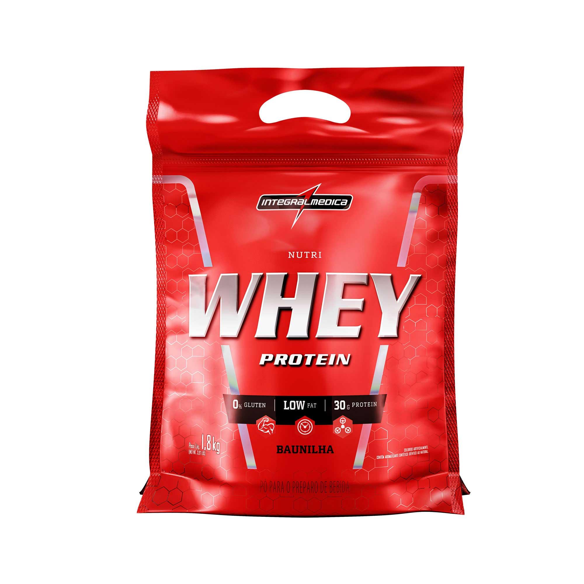 NutriWhey Protein Baunilha 1,8kg Integralmedica