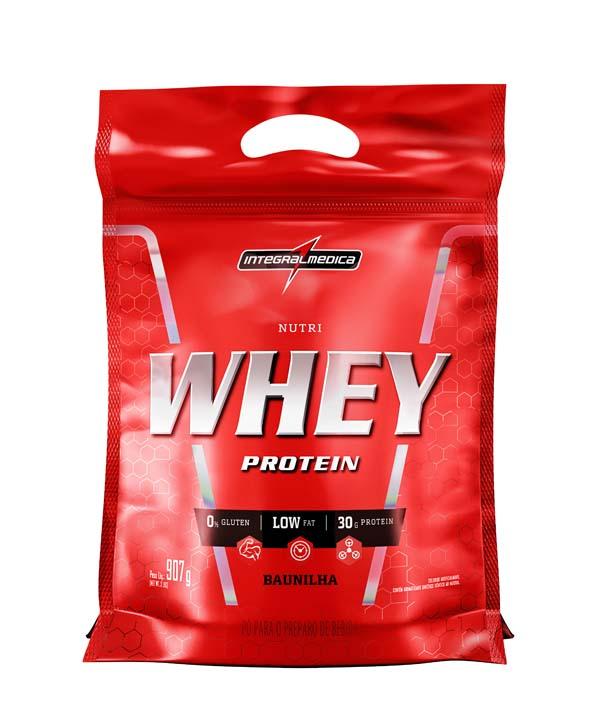 NutriWhey Protein Baunilha 907g Integralmedica