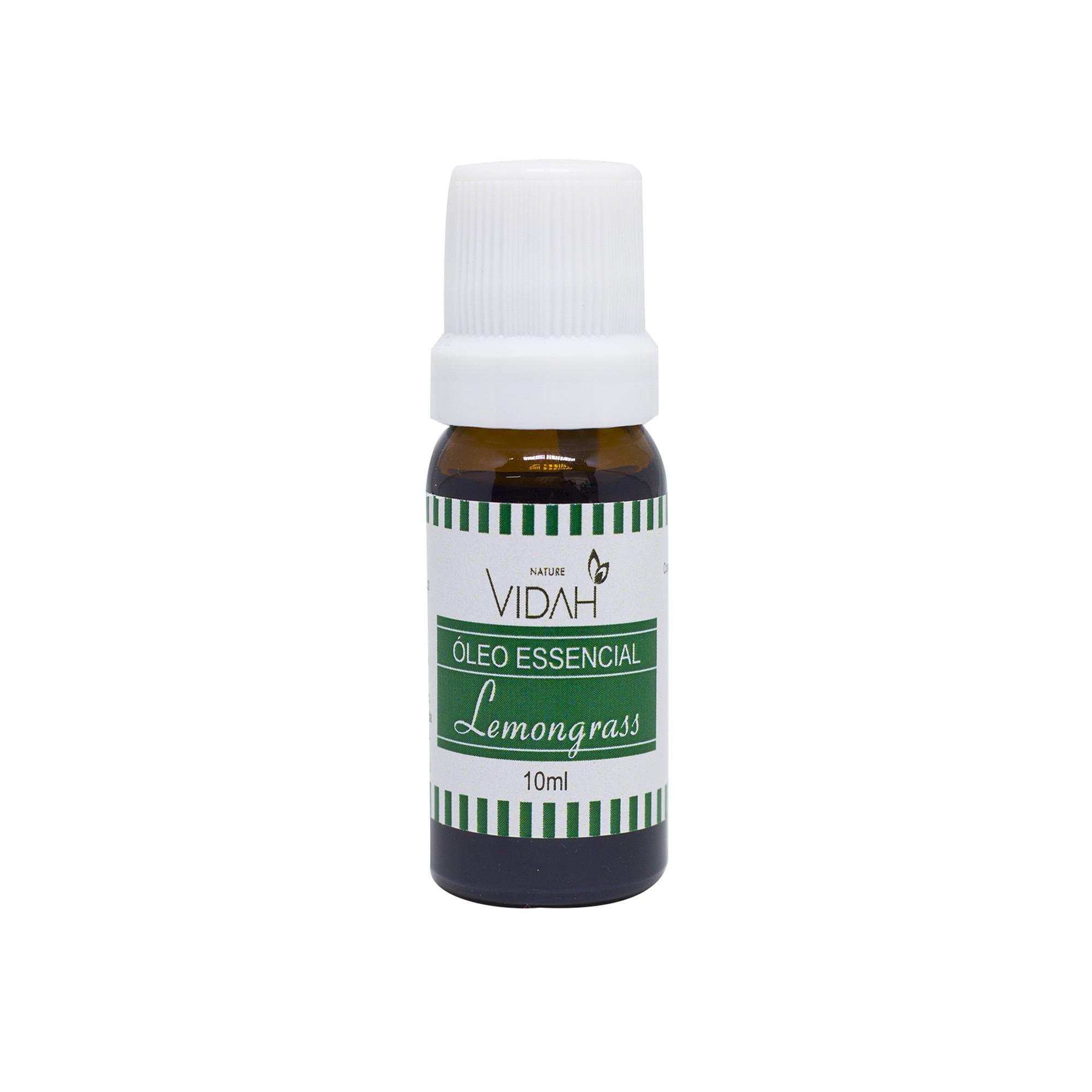 Óleo Essencial de Lemongrass Vidah - 10 ML
